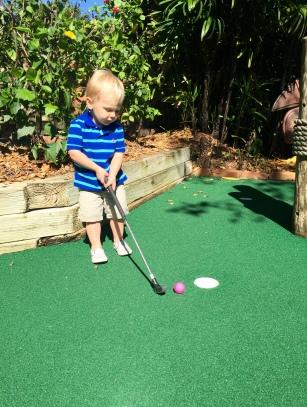 Putt-Putt Golfing